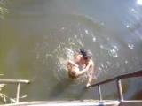 Санек прыгает