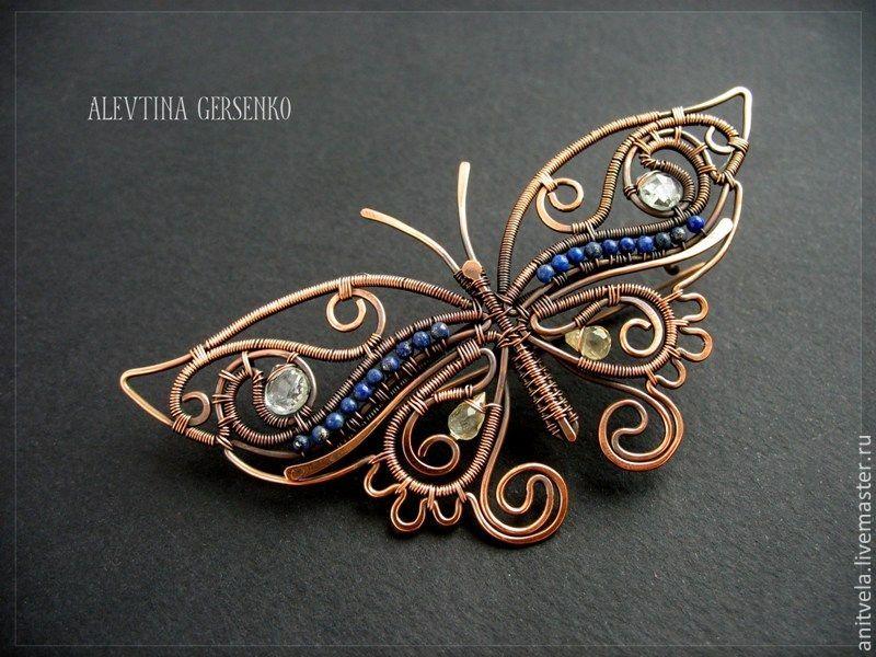 Бабочки из бисера со схемами фото 609