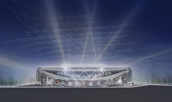 Стадионы с закрывающейся крышей.