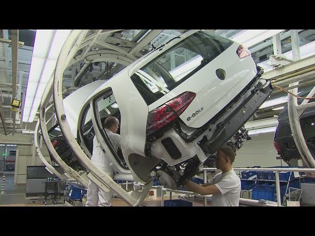 Как делают электромобиль Volkswagen e-Golf