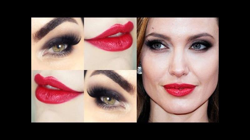 Angelina Jolie Makeup - Tutorial de Maquiagem
