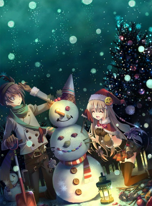 Сніговик. Новий рік