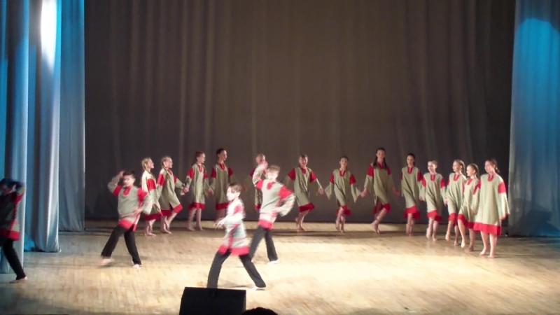 Конкурс Ступени-5 классы танец Ярило 26.04.2017