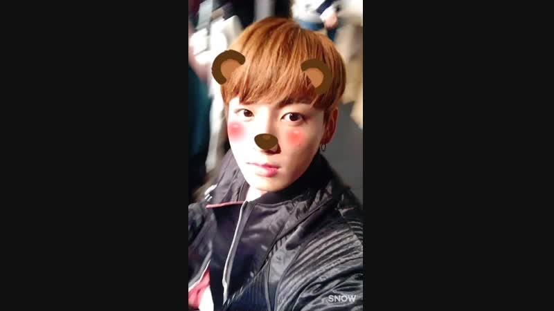 20161116 (21) - 팬사인회 현장에서 보내온 SNOW 영상! (3-2)