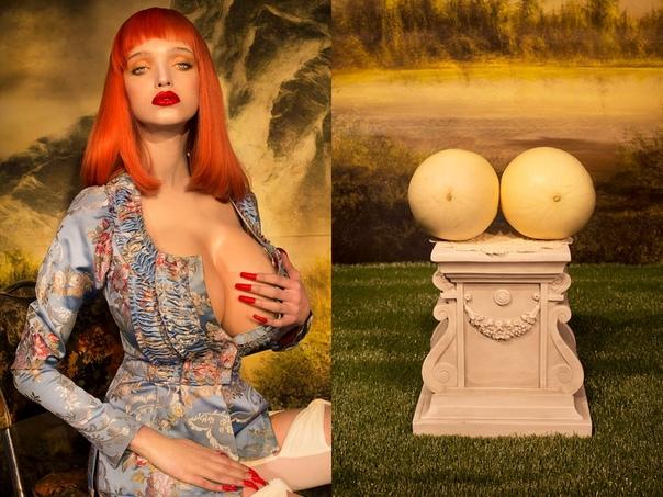 Фотоработы Нади Ли Коэн  это насыщенные сюрреалистические видения в стиле американских и британских фильмов 1950-70-х годов. Героиням её снимков сопутствуют китч, знойность и всевозможные странности. Они выставляют своё тело, но скрывают лица за очками и