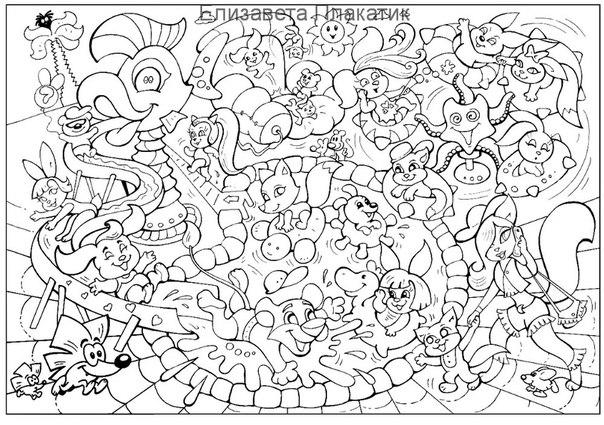Сложные раскраски для мальчиков 10 лет - 9