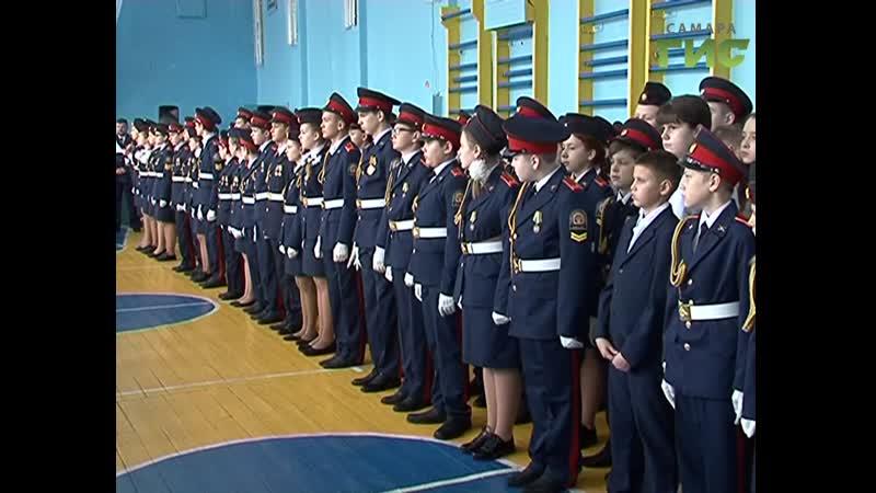 Самый большой отряд Юнармии в Самаре. Больше 300 кадетов вступили в ряды молодежного движения
