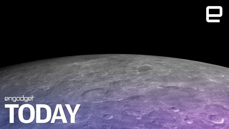 Water ice discovered on the moon's surface | Engadget Today