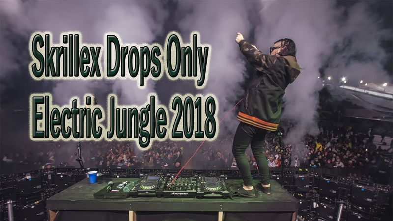 Skrillex Drops Only @ Electric Jungle China 2018