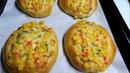 Булочки с кукурузой и майонезом Corn Mayo Buns Recipe