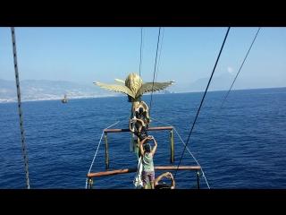 Пиратская яхта. Аланья. Октябрь 2015