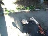 21+ Краматорск После артобстрела мужчина и женщина разорваны 18 июня 2014 Украина сегодня