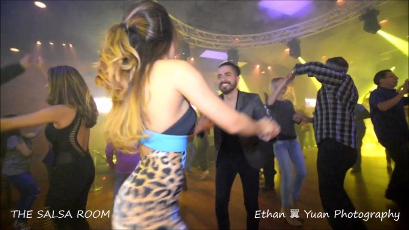 ALDO ORTEGA LINDA SAENZ Bachata Social Dance @ THE SALSA ROOM