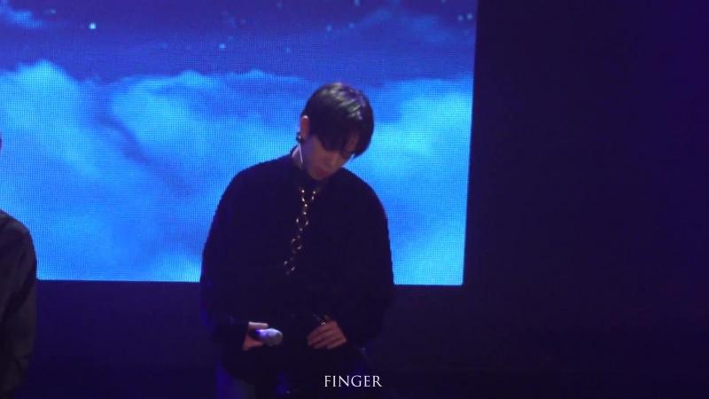 FANCAM | 13.10.18 | Byeongkwan (Take me HigherphototimeTalk5TAR) @ Fan-con 'To Be An ACE' in Seoul