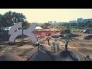 Строительство памп-трека в Марьино
