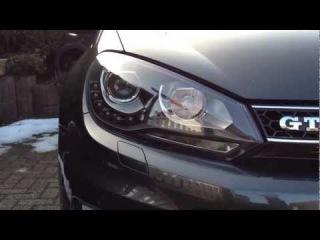 Golf VI GTD Dectane D-Lite Xenon Look LED TFL
