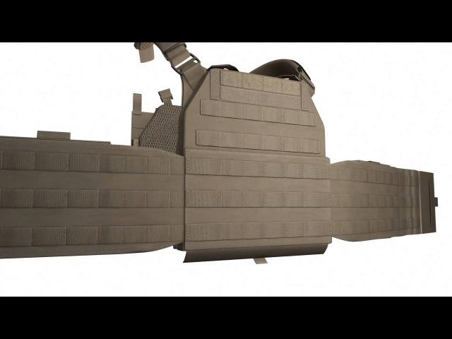 DCS Plate Carrier DA 5.56mm Coyote Tan - W-EO-DCS-DA-M-5.56-CT, W-EO-DCS-DA-L-5.56-CT