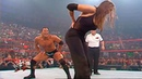 WWE The Rock vs Stephanie McMahon and Test Full Match HD