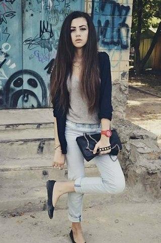 Фото девушка в контакте