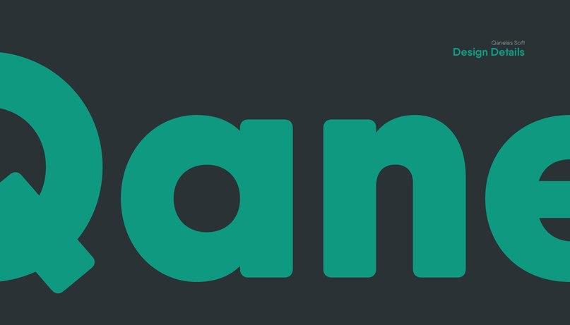 Qanelas Soft шрифт скачать бесплатно