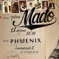 28 августа. Группа MADO в PHOENIX CONCERT HALL