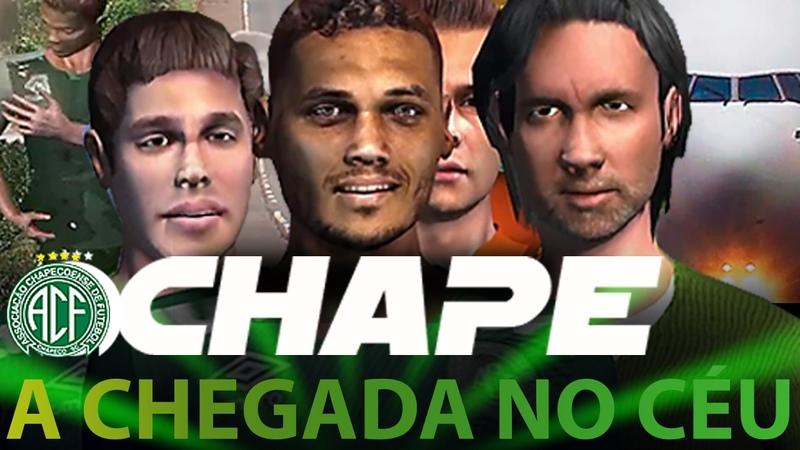 CHAPE - A CHEGADA NO CÉU | Cenas inéditas de fortes emoções.