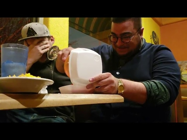 Man Pours Cocktail in Take-Out Box in Absence of To-Go Cup - 1019953