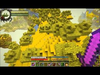 minecraft-подземелье тайн - №17 - этот жёлтый мир