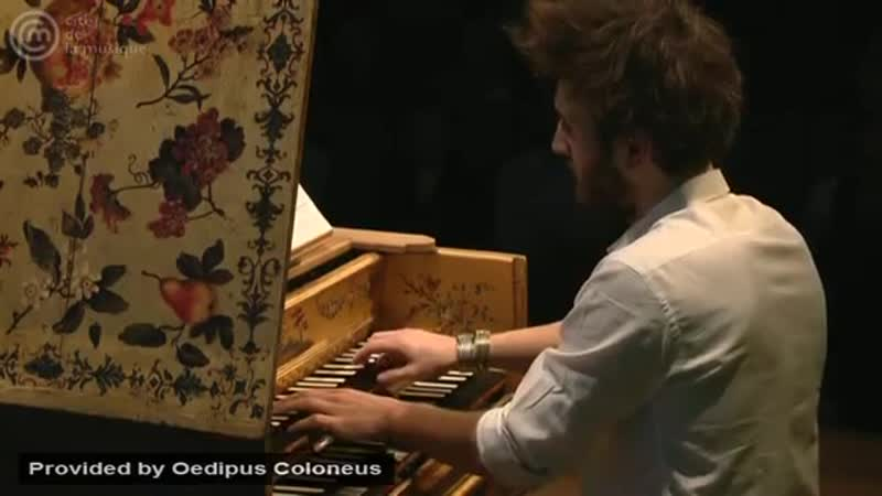 Bach_ Fugue for harpsichord in C minor, BWV 961 _ Jean Rondeau