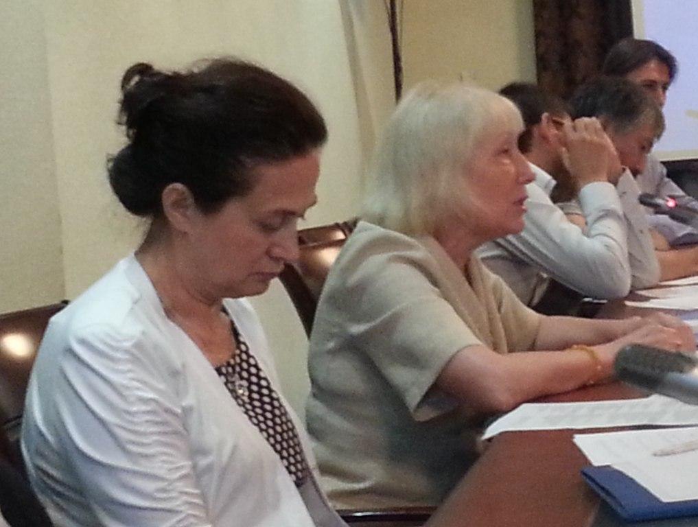 Фатима Албакова и Нина Кудашова