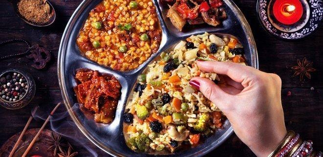 Самая здоровая индийская еда