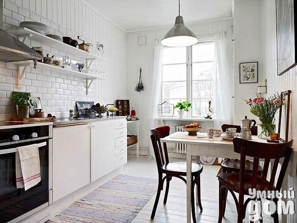 Как Вам кухоньки в скандинавском стиле? Хотели бы себе такую? :) Умные хозяюшки делают дом уютным! Каждый день!