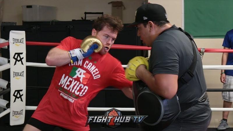 FULL CANELO ALVAREZ TRAINING WORKOUT FOR GENNADY GOLOVKIN 2 REMATCH FIGHT