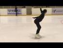 Satoko Miyahara_ 2018-19 Free Skate Open Practice