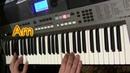 Песенка про... А.Пугачева на синтезаторе Yamaha PSR E443