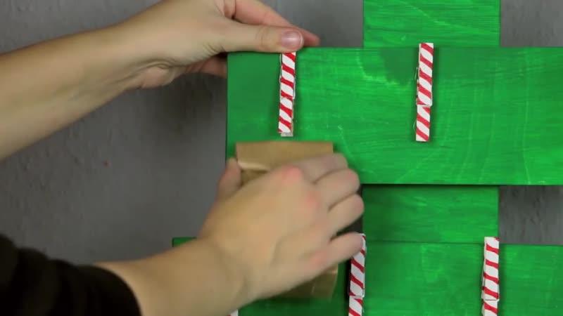 Складываем картонные втулки и приклеиваем к шпажкам. Классные поделки к празднику!