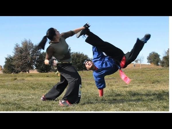 Capoeira Girl Fight Scene