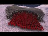 300 спартанцев VS 8 000 зомби