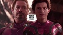 Tony Stark Peter Parker | I'm sorry [ MAJOR SPOILERS ]