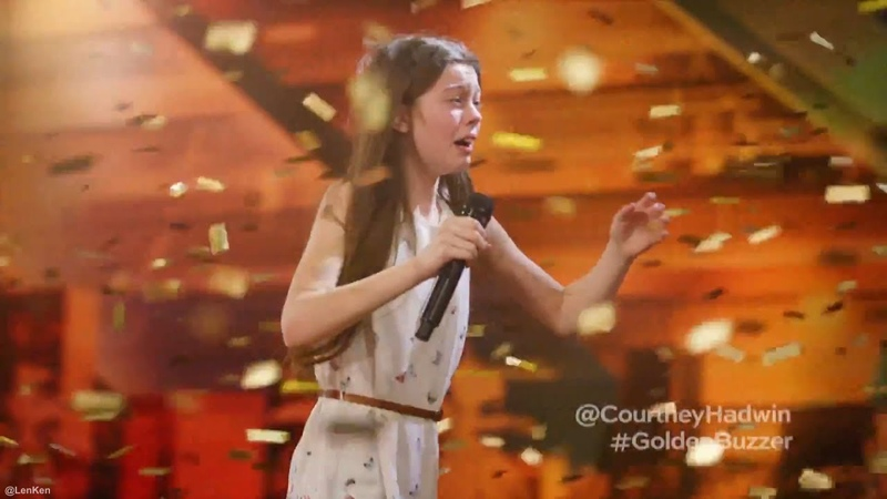 Singing Like a Lion Earns Howies Golden Buzzer Americas Got Talent