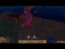 [МИР ММО ИГР] Люди на доске в океане против акул - эпик Raft 2.0