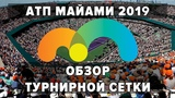 АТП МАЙАМИ 2019. Обзор турнирной сетки. Теннис