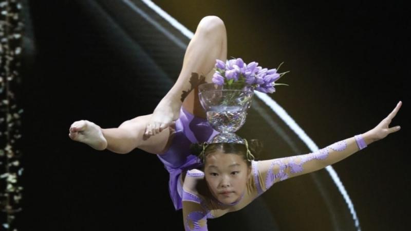 Маленькая монголка Б.Марал в очередной покорила зрителей своим талантом в знаменитом американском телешоу Little Big Shots