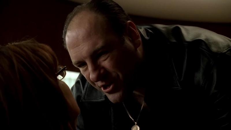 Клан Сопрано S04E06 06 Тони пришёл к Мелфи дохуя предохуя злой