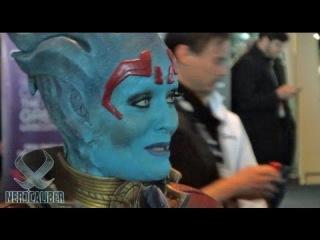 Rana McAnear as Samara - Mass Effect Cosplay - PAX East 2013