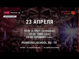 On-Line трансляция Pioneer DJ TV   Moscow - Сегодня 23 Апреля.