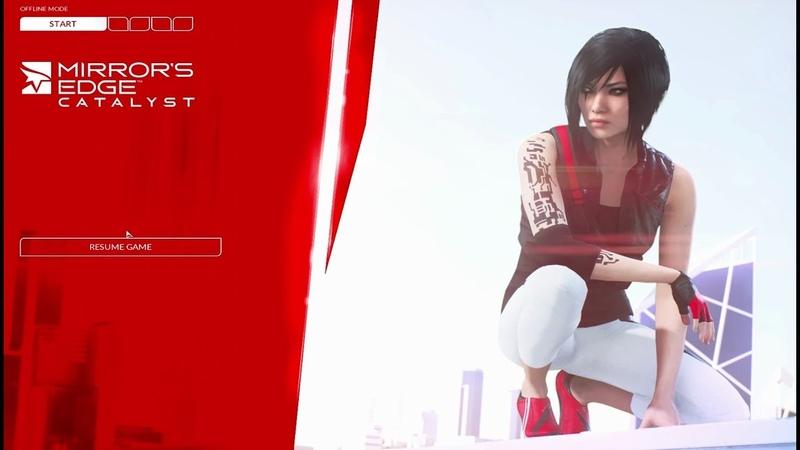 Mirrors EDGE 2 Catalyst - Messenger Girl (Level 4)