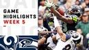 Rams vs Seahawks Week 5 Highlights NFL 2018
