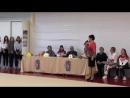 Анастасия Татарева Встреча на родине / Тренировка с юными воспитанницами