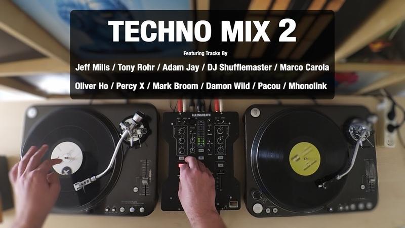 Techno Mix 2 | With Tracklist | Vinyl Mix
